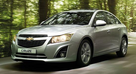 Chevrolet-Cruze дизайн автомобиля