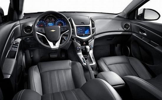 Chevrolet-Cruze фото салона
