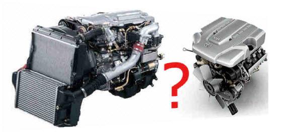 двигатель бензин или дизель
