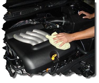 чем помыть мотор машины