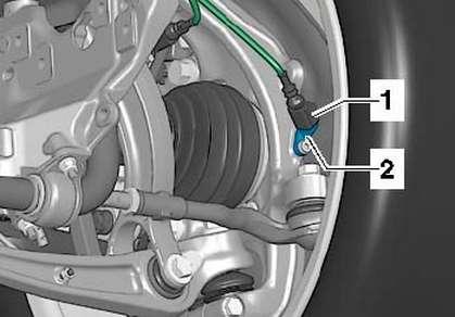 контроль за давлением в шине