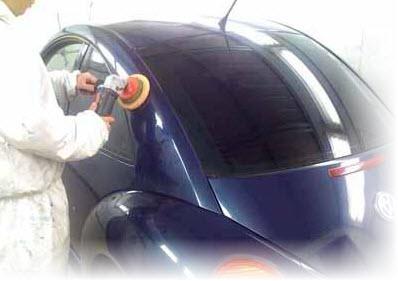 полировка после покраски автомобиля
