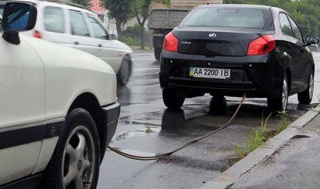 буксировка неисправного автомобиля