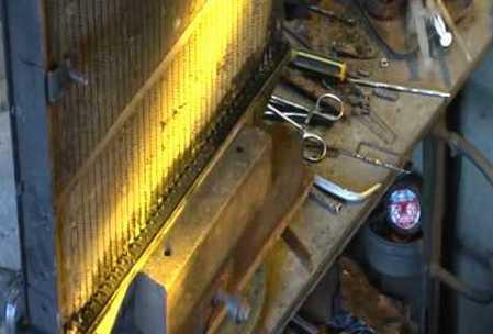 медный радиатор устранение течи