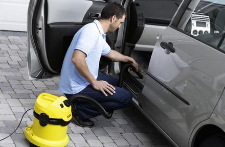 чистка салона машины