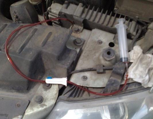 Замена масла в двигателе через щуп своими руками 69