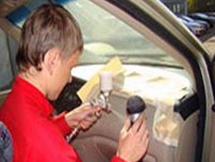 ремонт обивки салона автомобиля