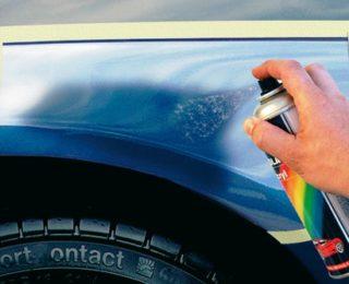 Как самостоятельно закрасить сколы на машине