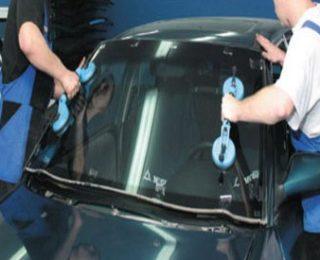 замена стекла в автомобиле
