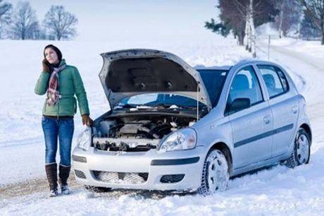 пуск двигателя зимой
