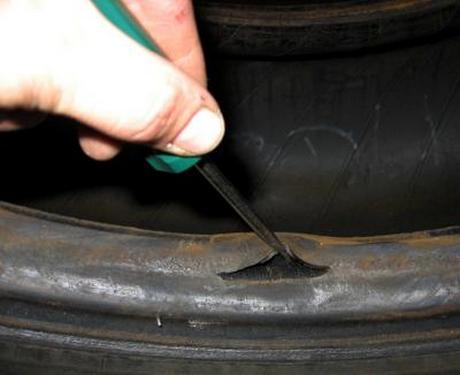 подержанные шины дефекты