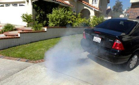 как определить неисправность автомобильного двигателя по дыму
