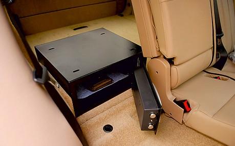 куда поставить сейф в автомобиле