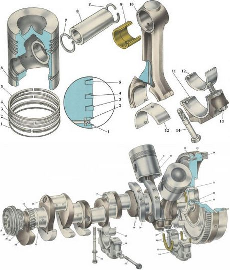 механизм кривошипно-шатунный
