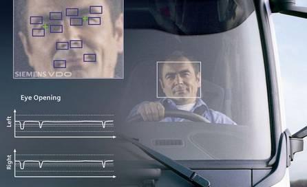 контроль усталости водителя наблюдение