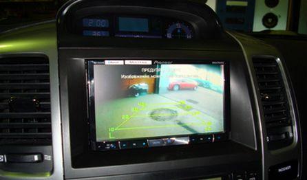 камера заднего вида в парковочной системе