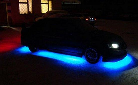 светодиодная подсветка авто