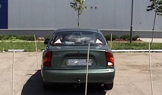 тренировка паркинга