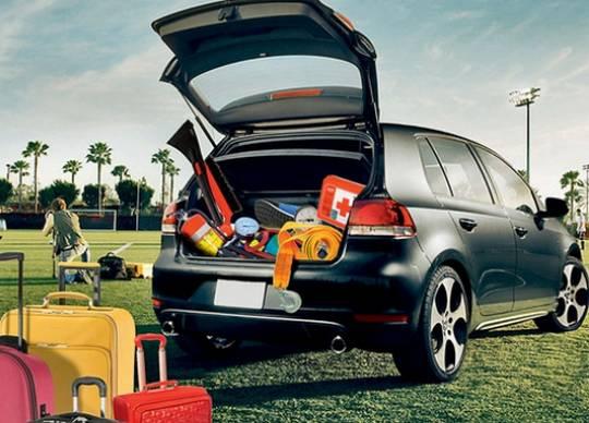 В багажнике должно быть место и для домкрата