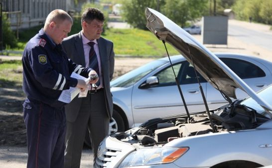 При регистрации авто в гибдд нужна аптечка и огнетушитель