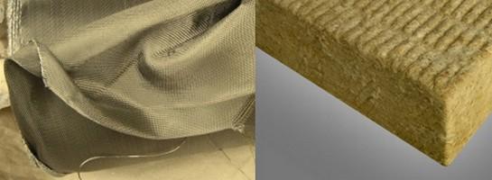 Базальтовые ткань и утеплитель