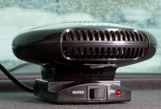 вентилятор машины с подогревом