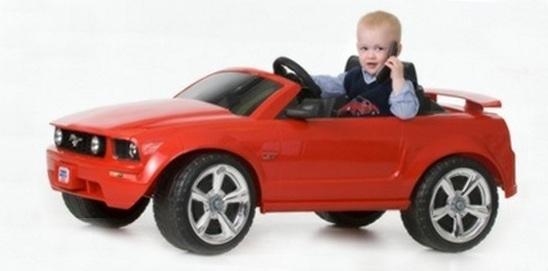детям машину