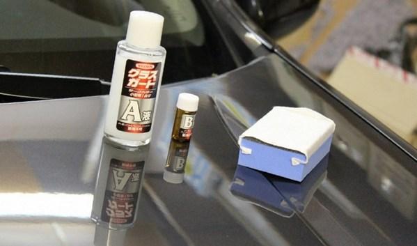 покрытие жидкое стекло для авто цена