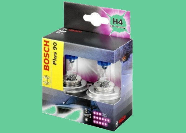 лампа с повышенной светоотдачей H4
