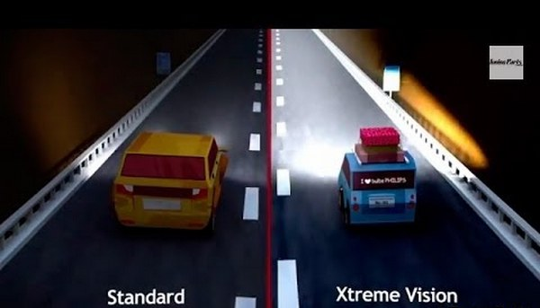 тест ночью X-treme Vision +100%