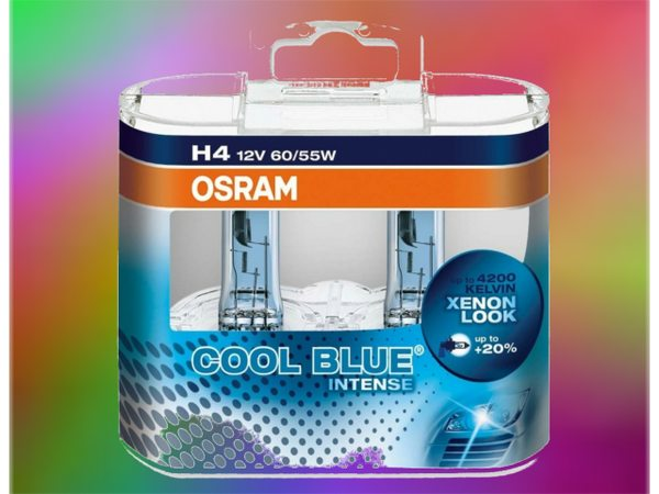 картинка OSRAM H4 Cool Blue Intense 12V 60/55W