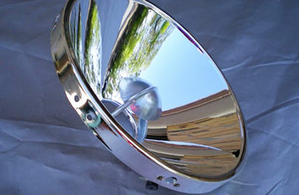 зеркальная новая поверхность